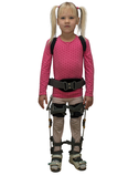 Orthosis for low extremities and body with thigh abduction function