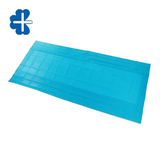 Anti-slip absorbent surgical table cover sheet