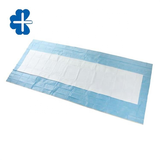 Absorbent surgical table cover sheet