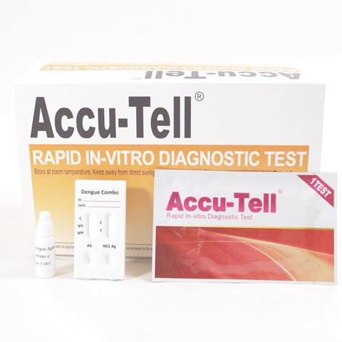 Accu-Tell Dengue IgG/IgM/NS1 Combo Test Cassette
