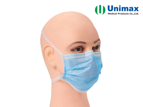 Waterproof Anti Virus 3 Ply Disposable Surgical Face Mask