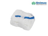 white blue 45x45 sterile lap sponges