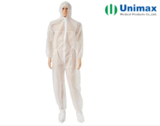 Unimax Medical PP Coated PE Disposable Protective Coveralls