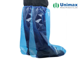 pl31334219 waterproof oil proof liquid proof disposable high knee pe boot cover