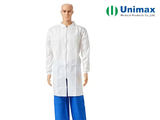 pl31528957 sms unimax disposable white lab coat