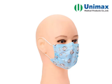cartoon child 3 ply earloop disposable surgical face mask