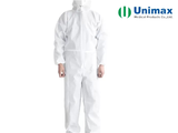50gsm non woven sms disposable protective coveralls