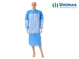 smms blue en13795 disposable surgical gowns 45gsm