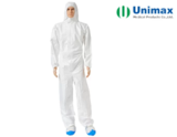Chemical Resistant Antistatic ISO Disposable Protective Coveralls