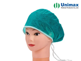 pl31581983 spunlace disposable non woven cap with ties