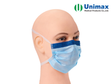 CE Anti Fog Unimax Medical Face Protection Mask With Ties
