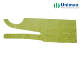 pl31479626 green polyethylene ldpe disposable plastic aprons 65g