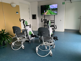 COVID Exerciser station for elderly in nursing homes