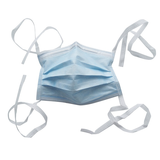 Medical mask with ties
