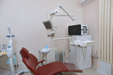 Potok at dental office