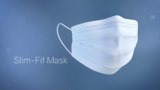 Slim fit mask