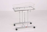 AD-252/C BABY COT - CHROME PLATED