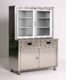 AD-213/P MEDICINE CABINET, 304 QUALITY STAINLESS STEAL