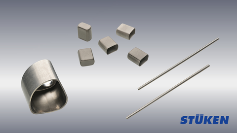 Efficient and reliable production of components out of titanium