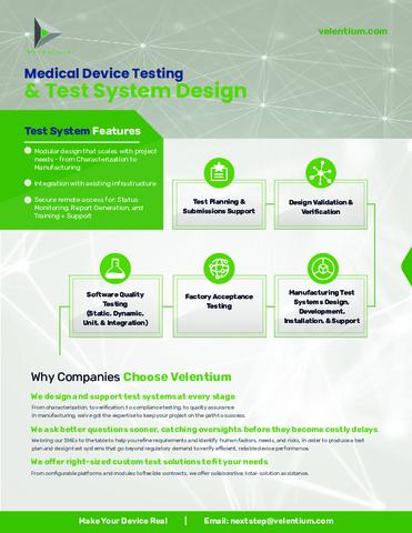 Velentium - Medical Device Testing.pdf