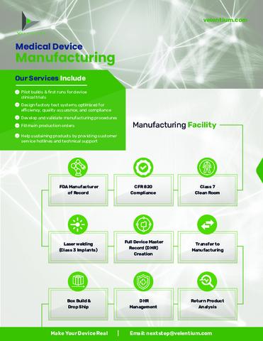 Velentium - Medical Device Manufacturing.pdf