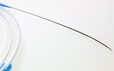Extruded - Nitinol corewire, extruded PU sheath, hydrophilic and radiopaque over the entire length