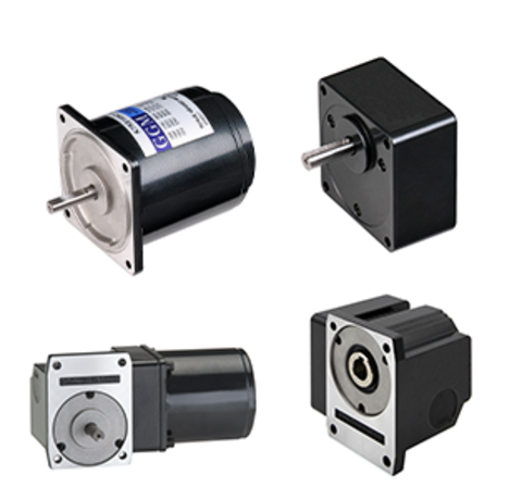 AC motors and gearboxes