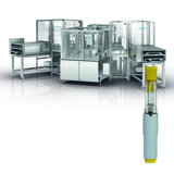 Assembly machine for auto injectors