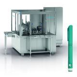 Assembly machine for pen injectors
