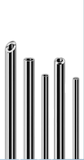 Precision fine tubes, wires and sections