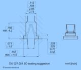 Entenschnabelventile - DU 027.001 SD