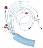 Cable system for X-ray device