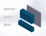 MOLOK microfluidic system w label