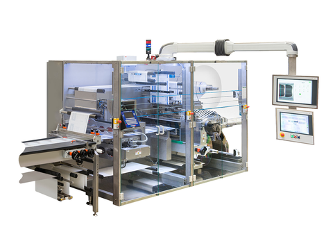 4 Side Seal Platen Packaging Machine