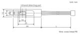 Shibaura Thermistor-Sensorfühler