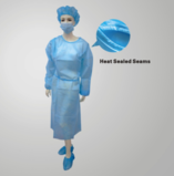 FY1611 Dispoable Isolation Gown Heat Sealed