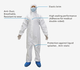 Disposable Protective Coverall without Tape and Shoe Covers