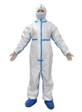 Disposable Protective Coverall with Tape/without Shoe Covers