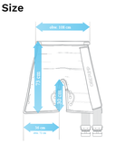 8-Kammer kurze Hosenmanschette mit Schläuchen