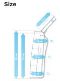 8-Kammer-Armmanschette mit Schläuchen