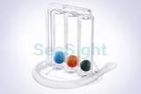 """""""LB1810 Tri-ball Incentive Spirometer"