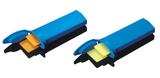 Plastic Slider Mailer for 2 pieces Slides