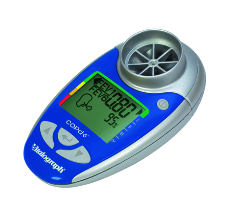 Vitalograph copd-6 / Digitaler COPD-Screener