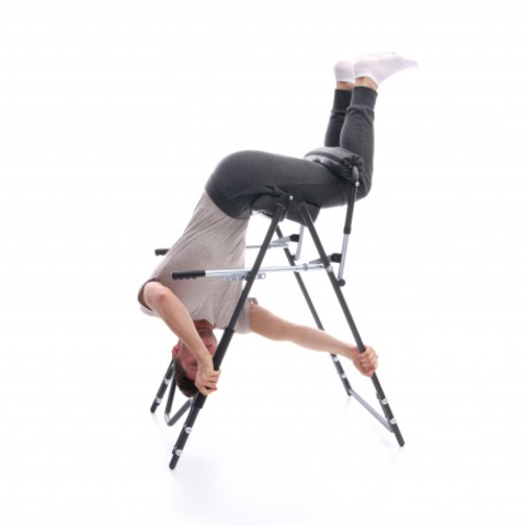 device for supporting spine rehabilitation gravicat