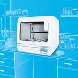 Omnia: automatisierte Arbeitsstation für PCR, RT-PCR, qPCR-Setup