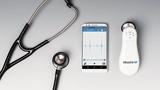 Electronic stethoscope amplified eKuore Pro