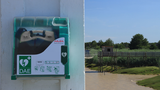 AED protection and monitoring