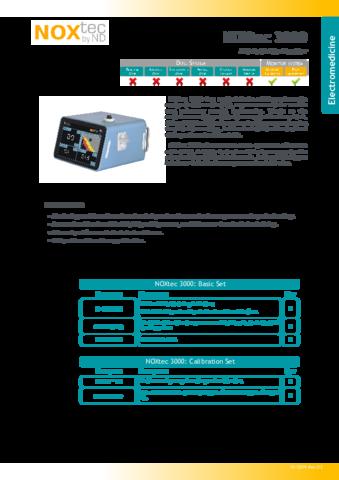 56NXTC3000DE Technical Datasheet NOXtec3000 rev02