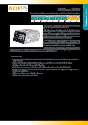 56NXTC2000DE Technical Datasheet NOXtec2000 rev02