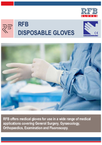 Brochure - RFB Disposable Gloves 2021
